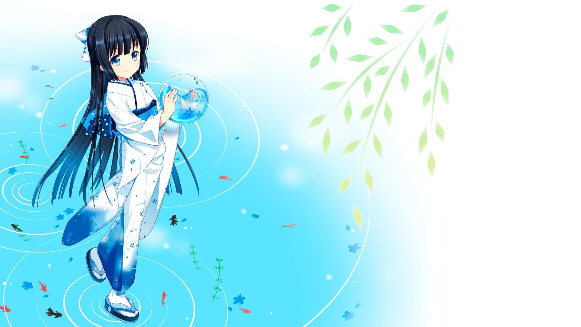 Anime Character laptop wallpaper