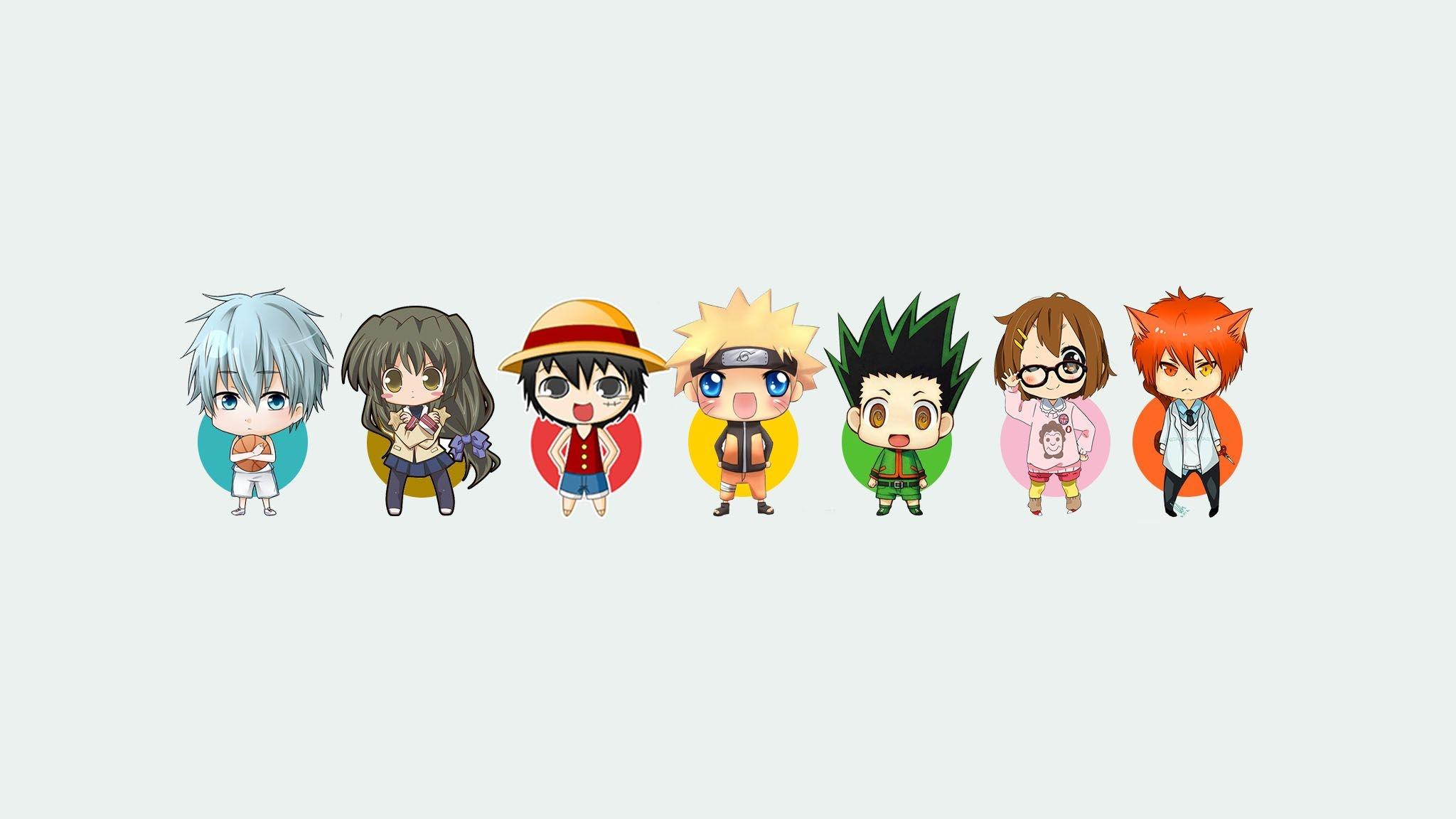 Anime Character desktop background