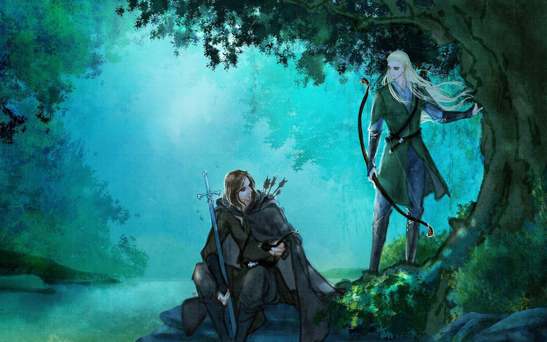 Legolas free background