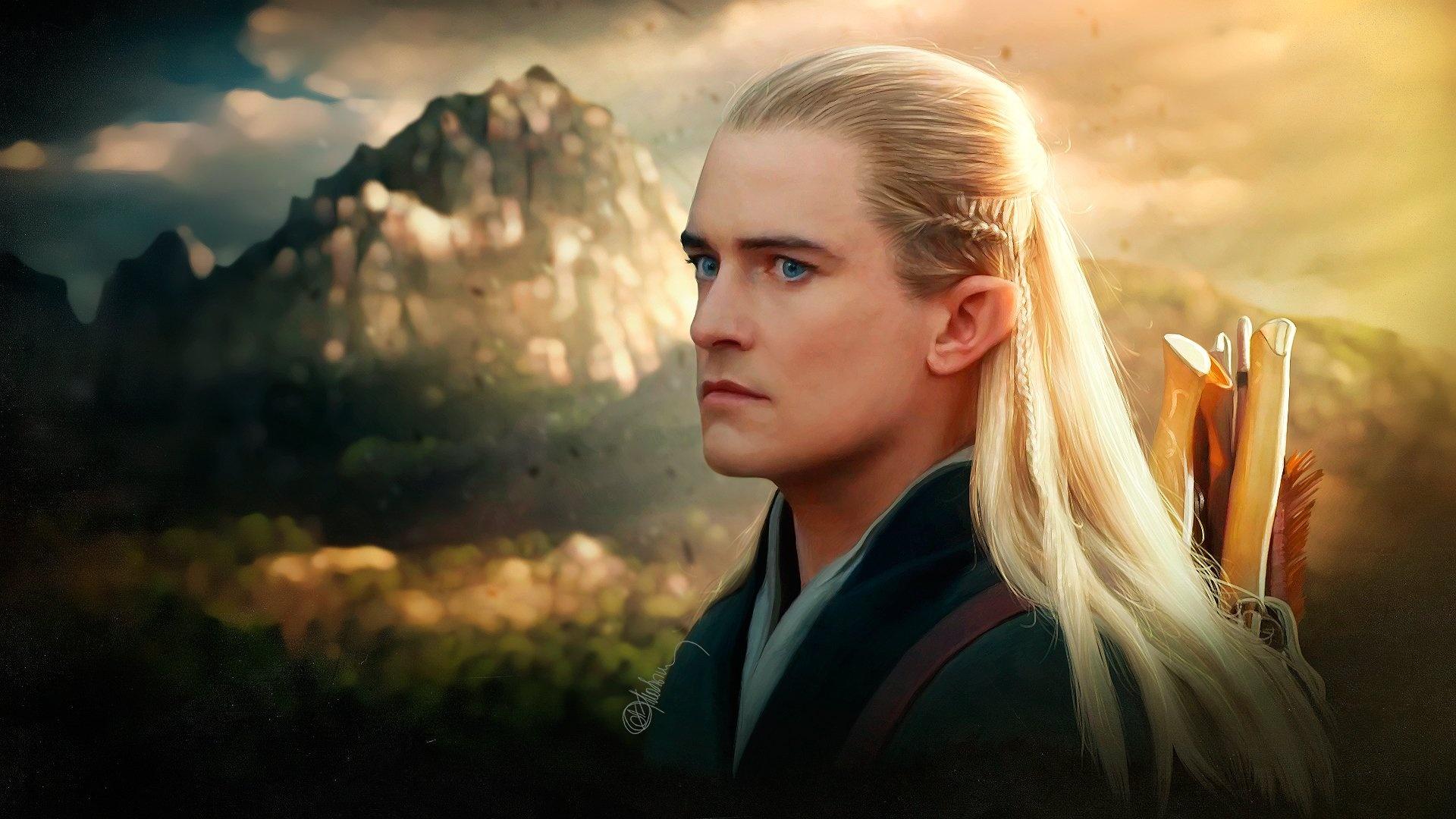 Legolas hd background