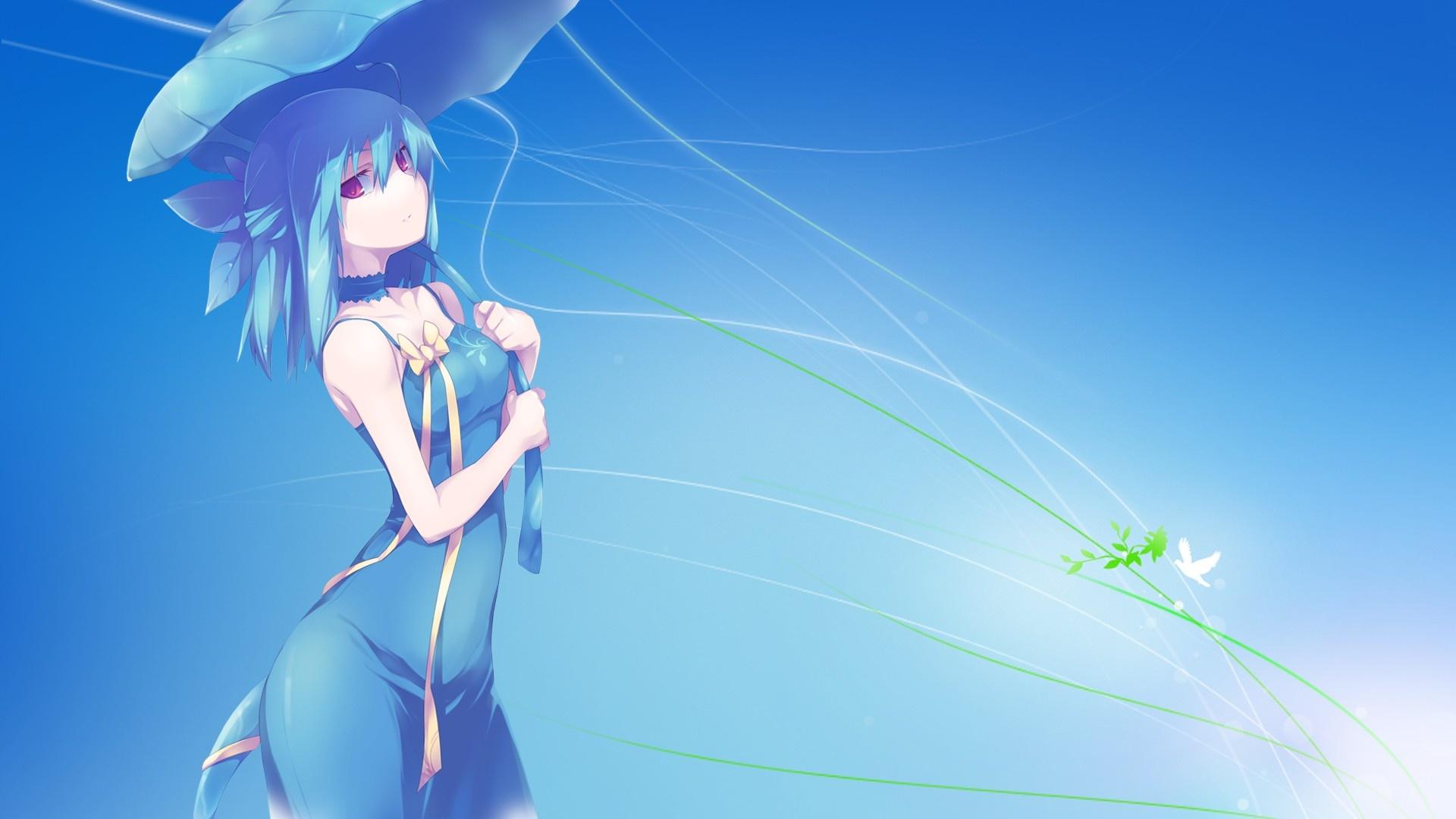 Anime Girls For Windows free wallpaper