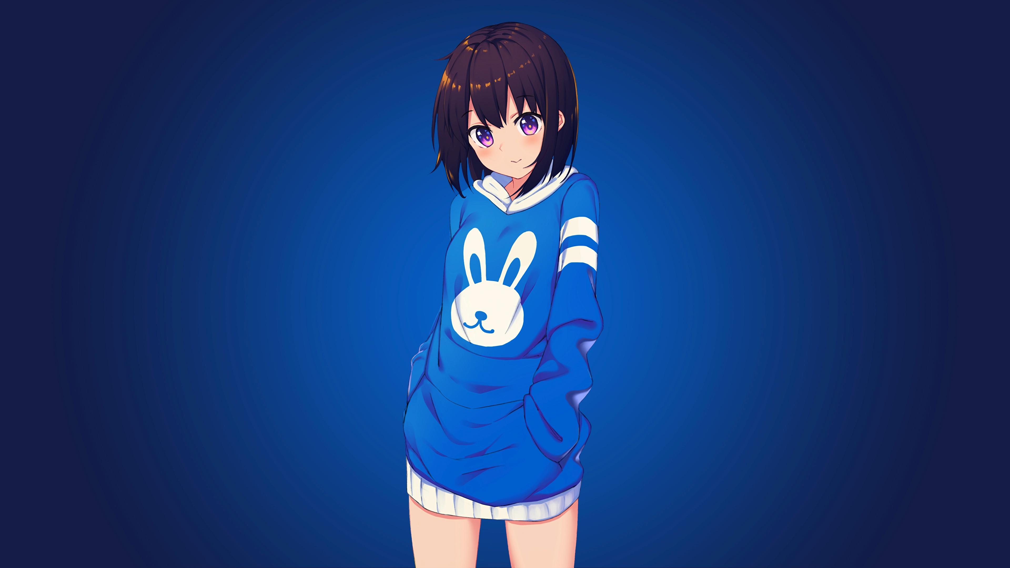 Anime Girls For Windows laptop wallpaper