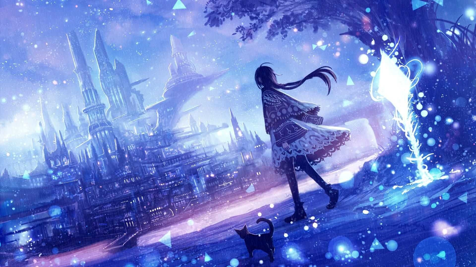 Anime Girls For Windows cool background