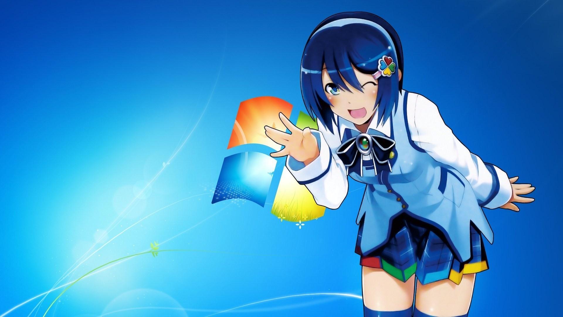 Anime Girls For Windows windows wallpaper