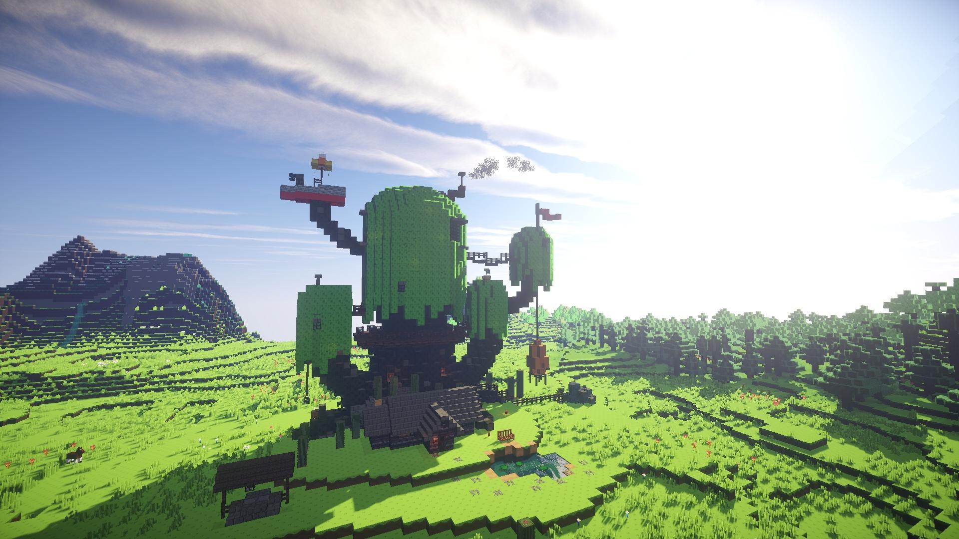 Minecraft free wallpaper