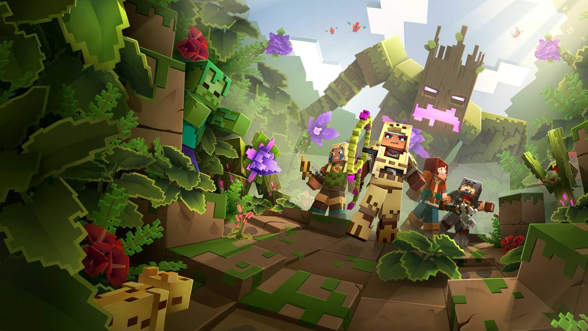 Minecraft windows background