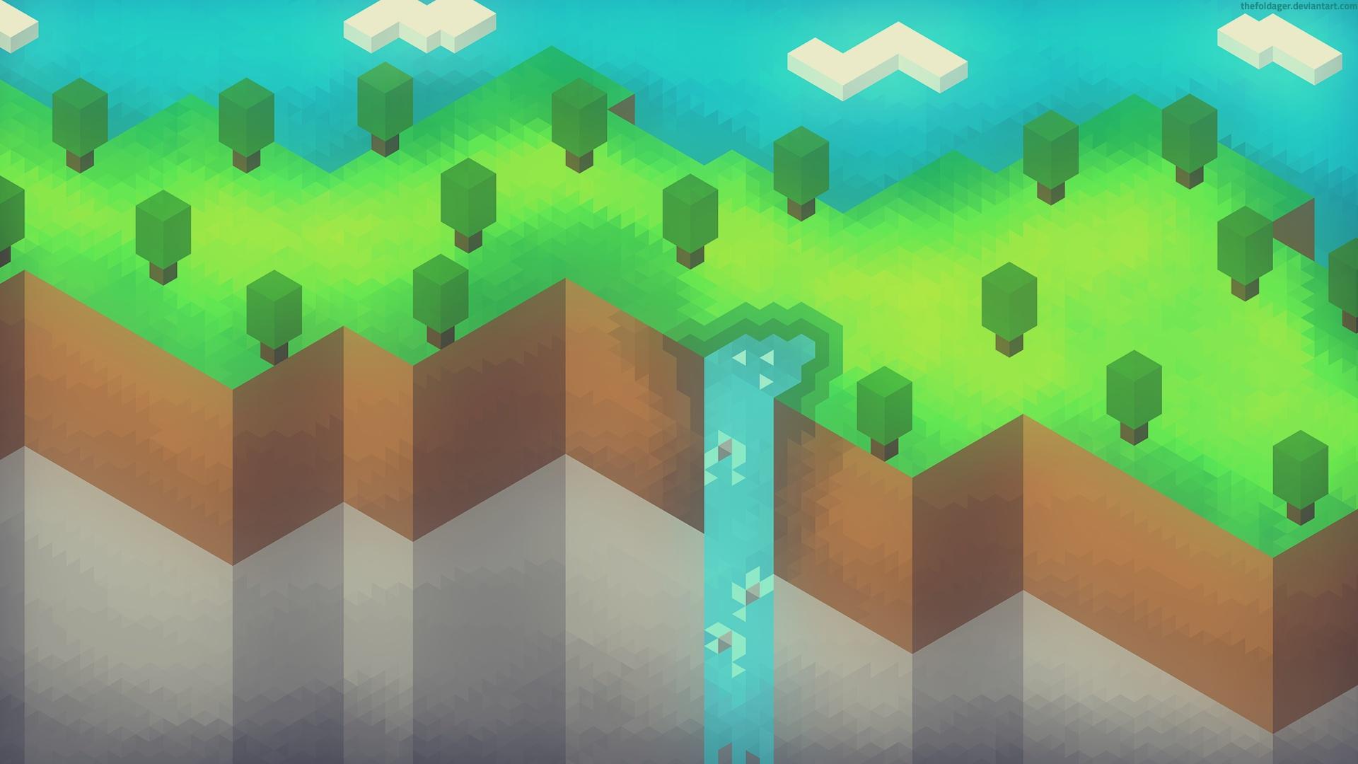 Minecraft desktop wallpaper