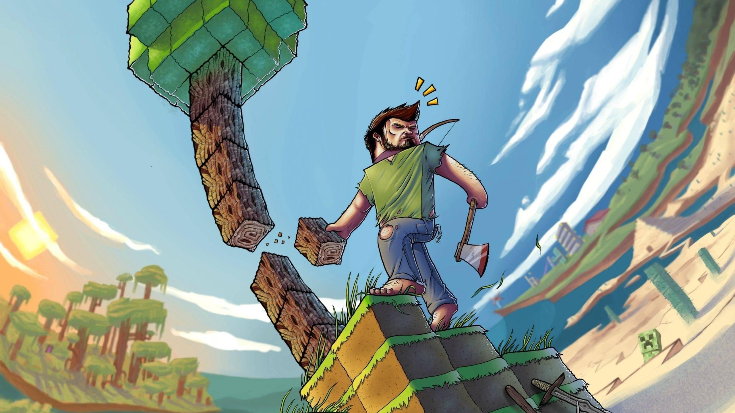 Minecraft best background