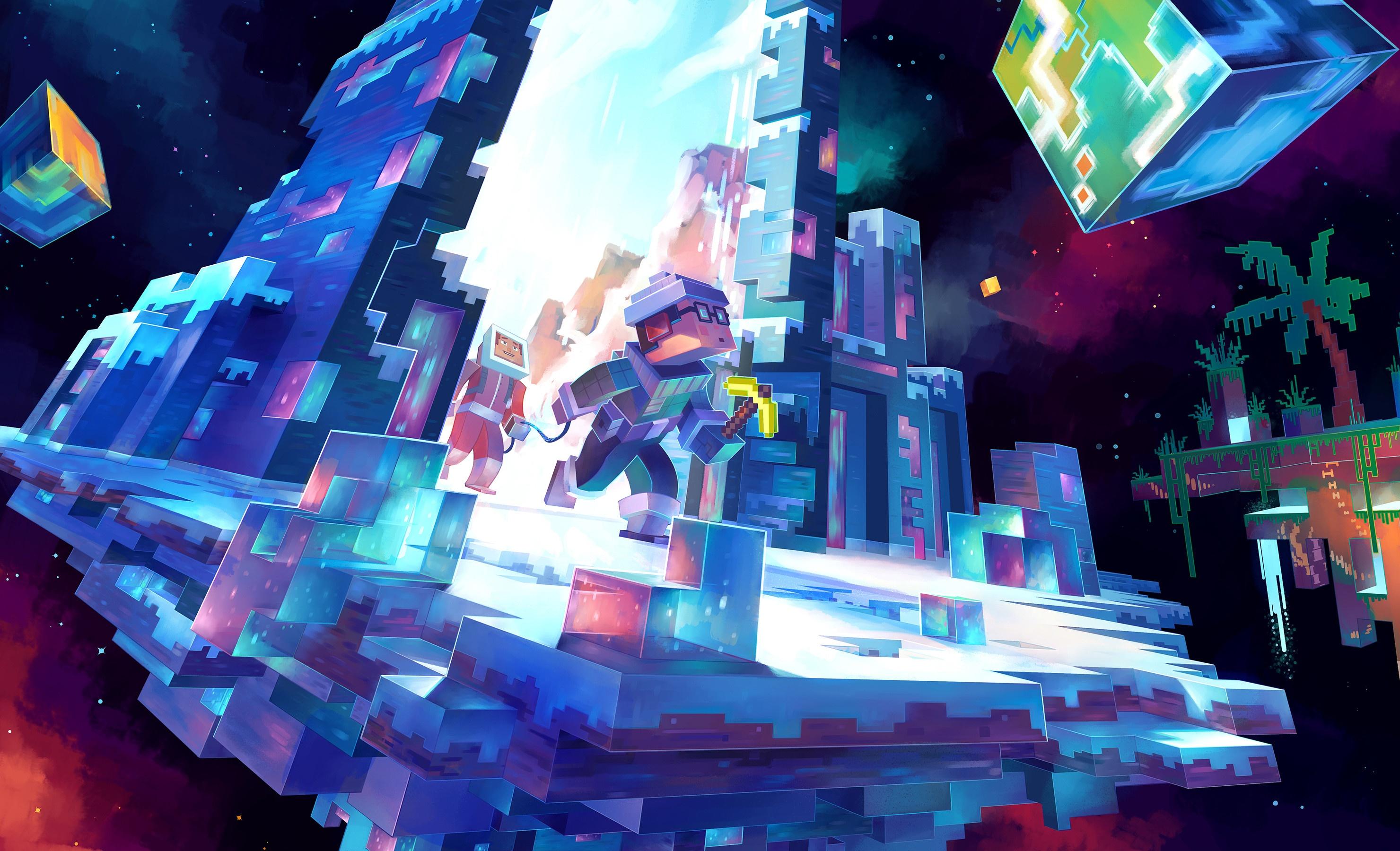 Minecraft background picture