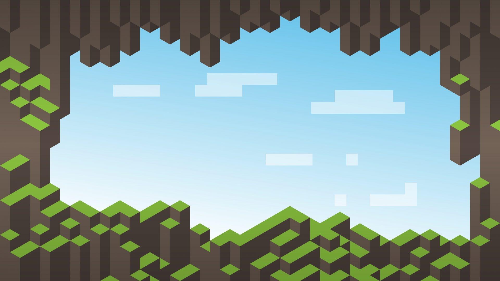 Minecraft cool background