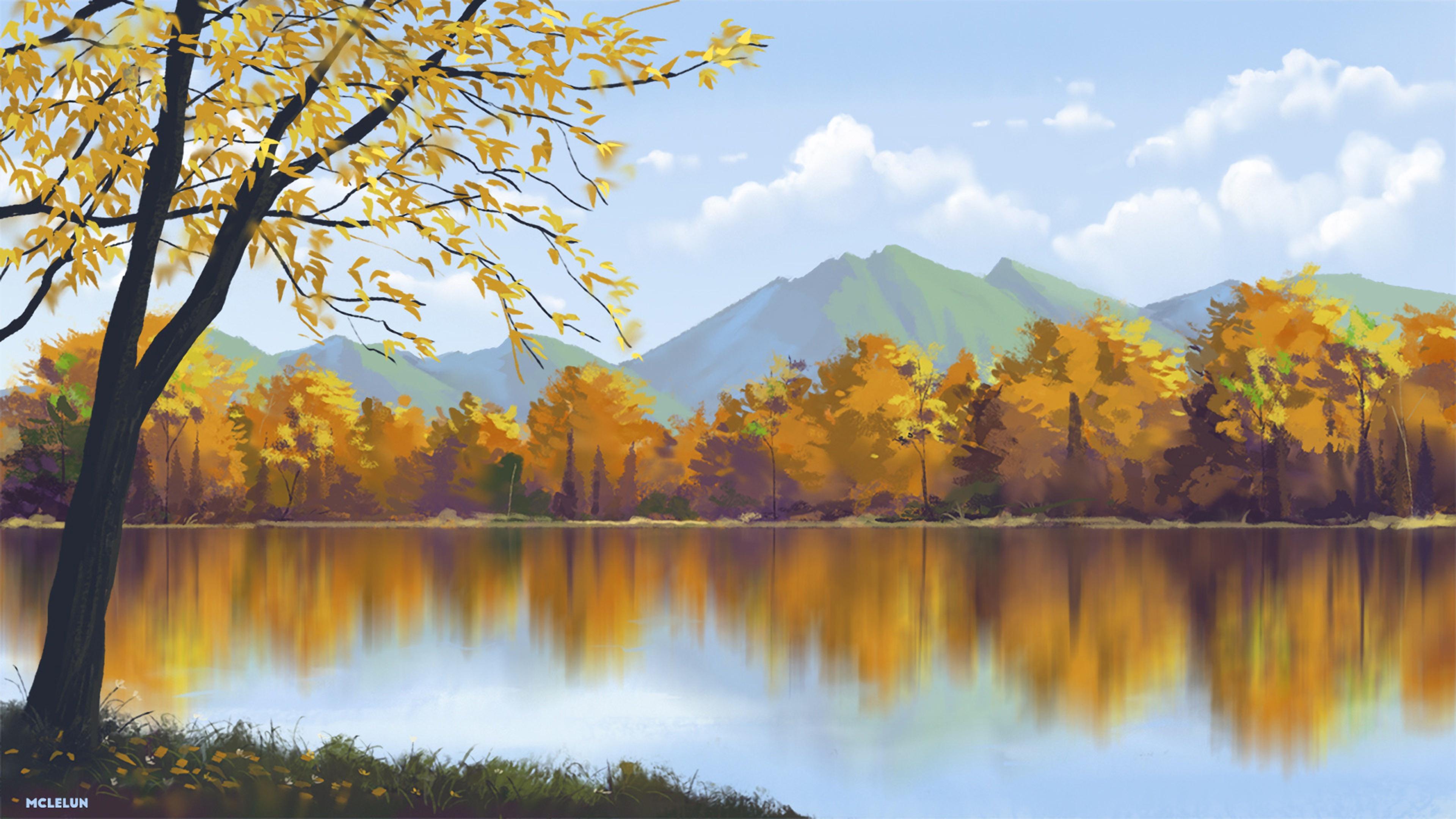 Fall Art pc wallpaper