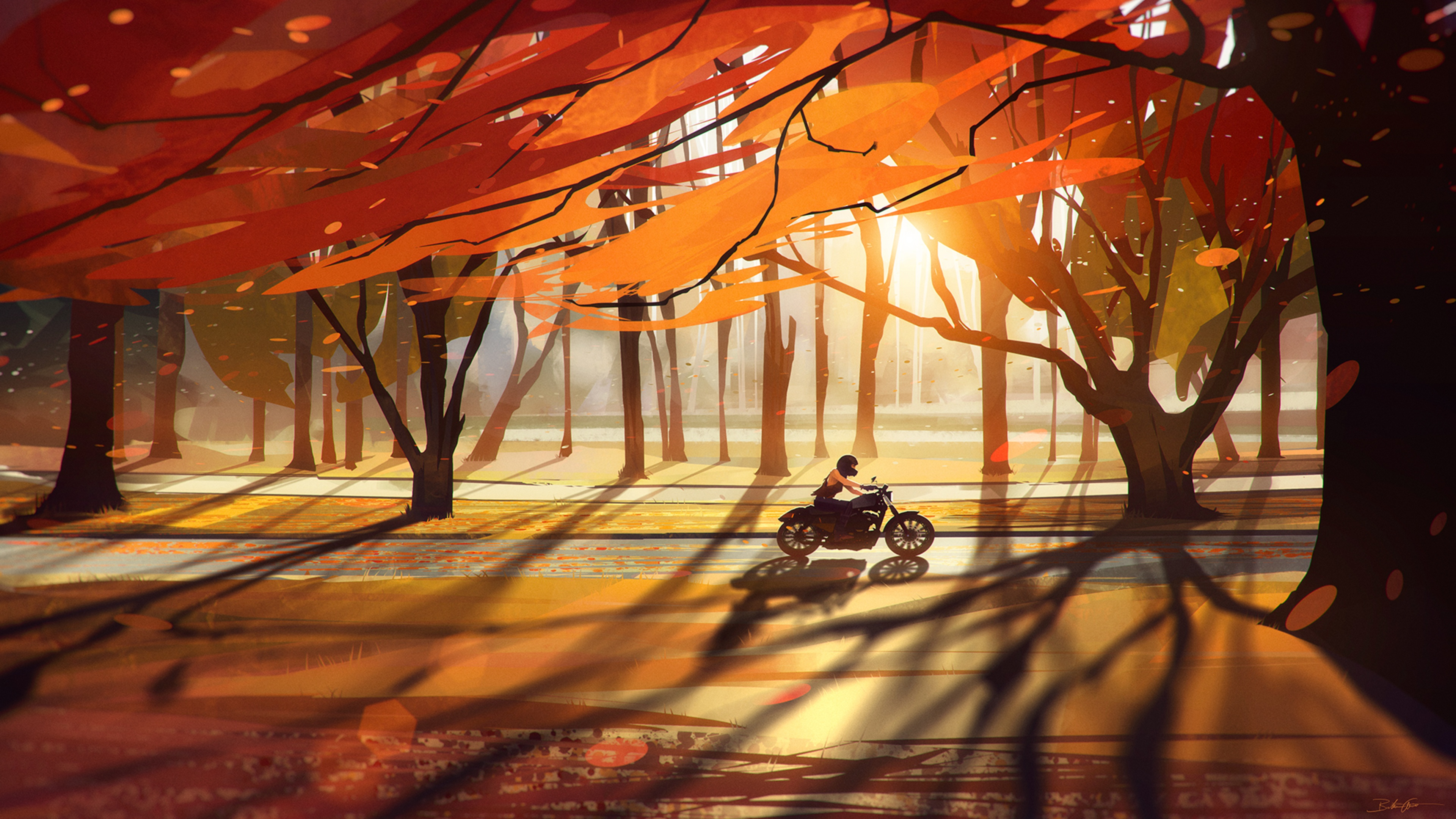 Fall Art best background