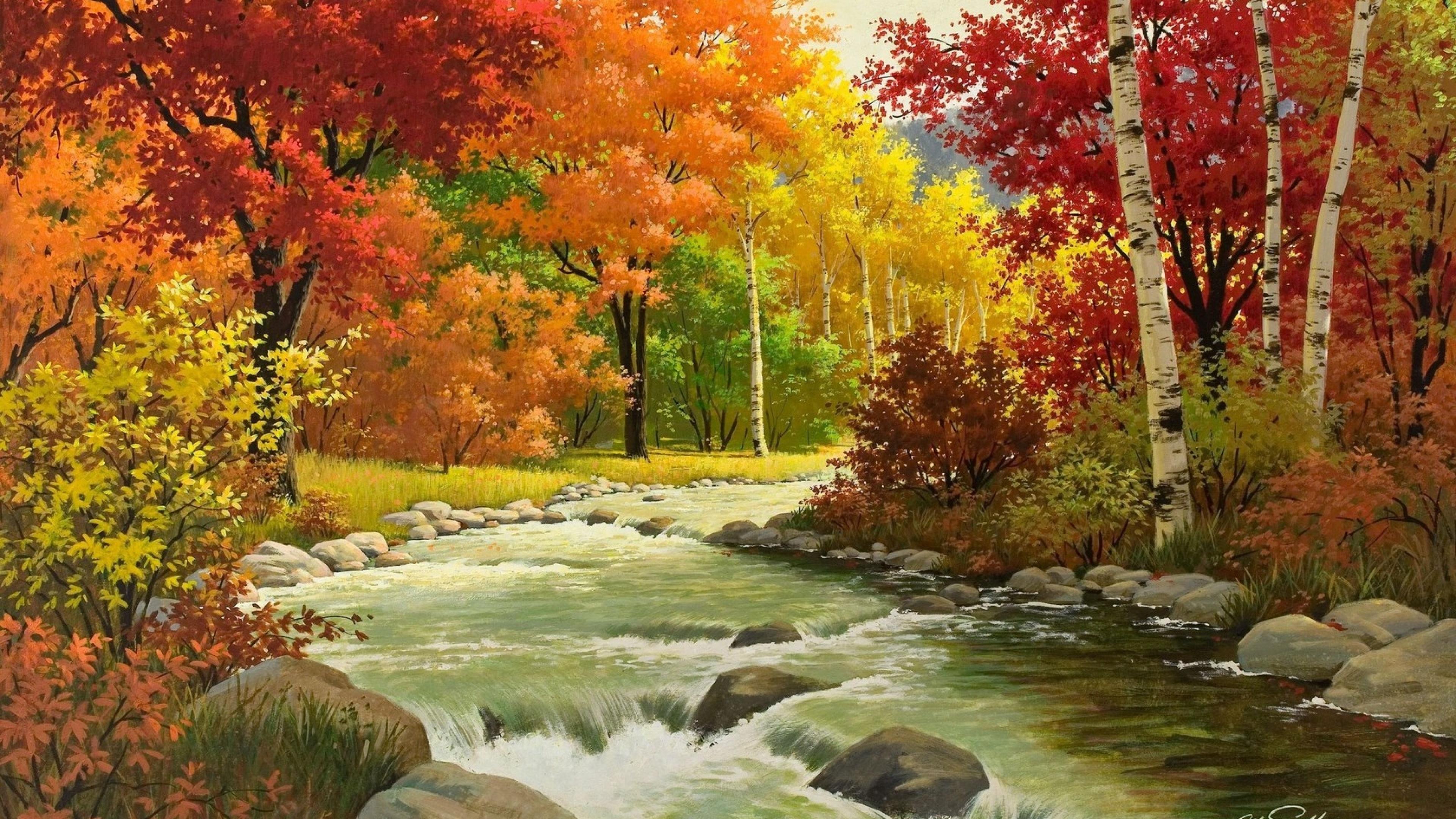 Fall Art laptop wallpaper