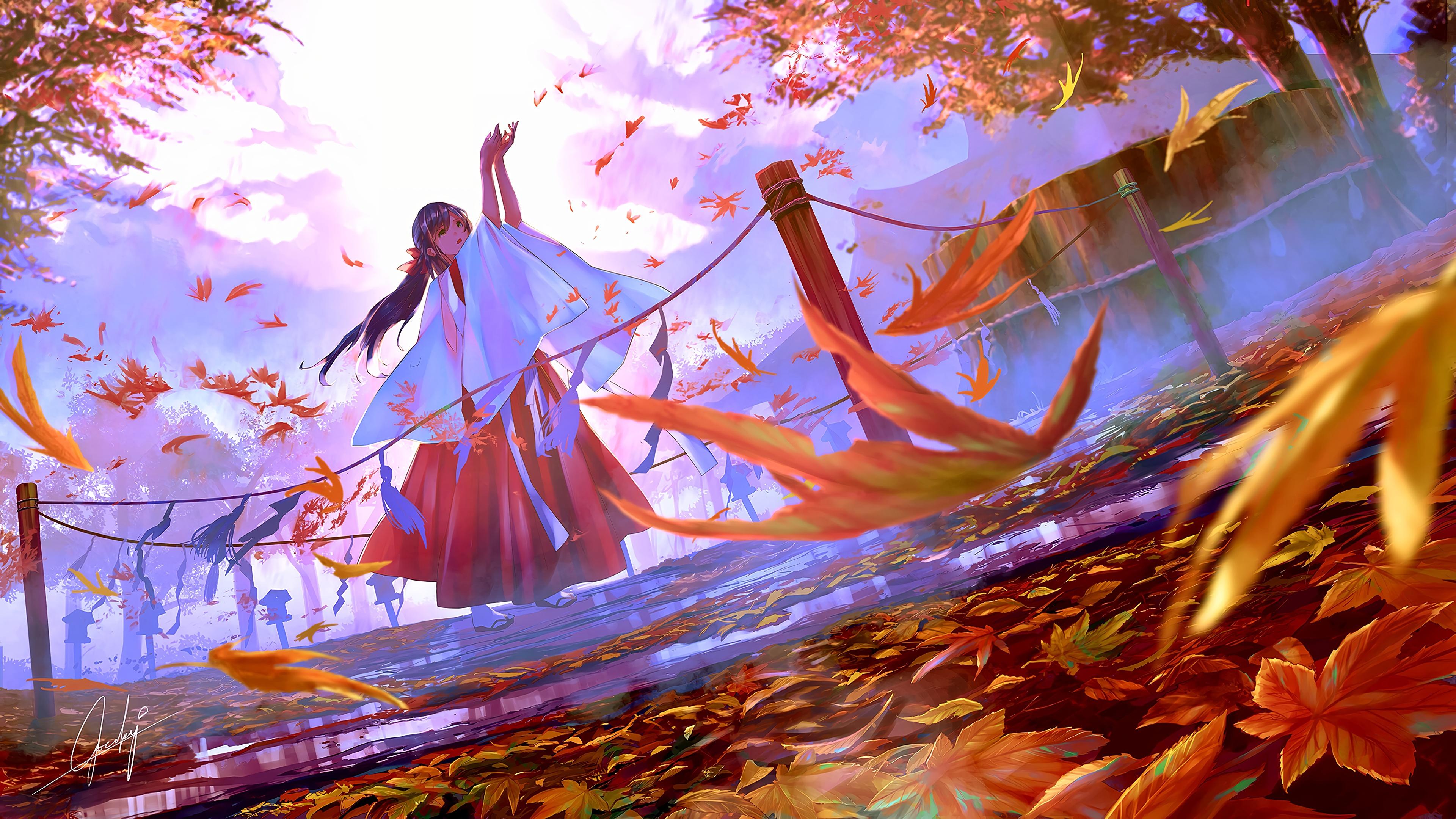 Fall Art 3840x2160 wallpaper