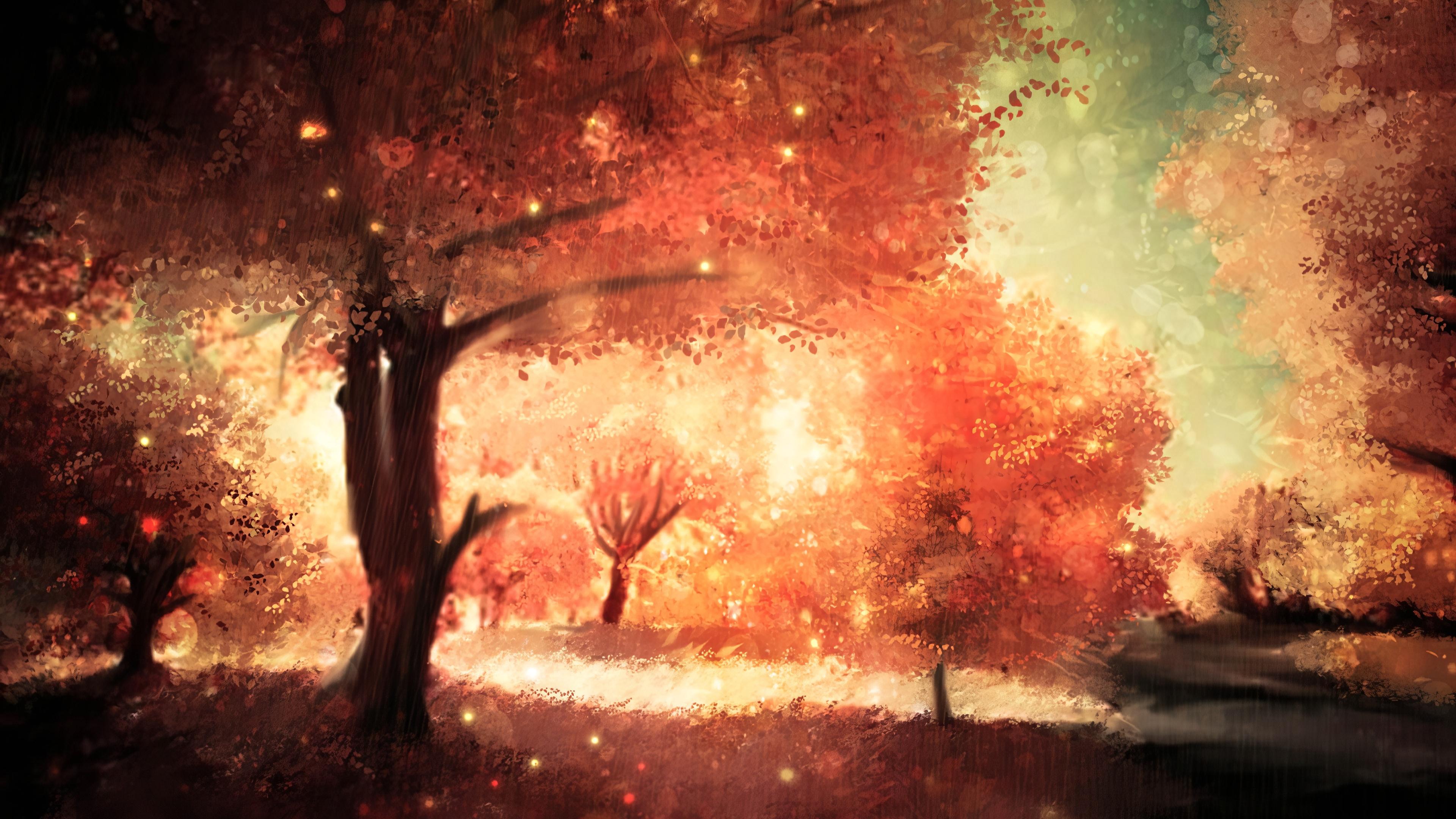 Fall Art computer background