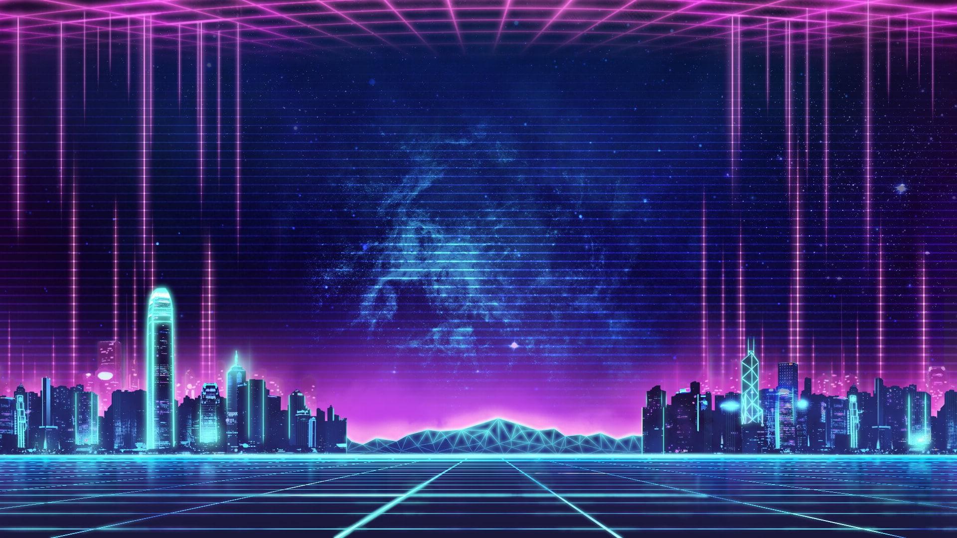 Neon pc wallpaper