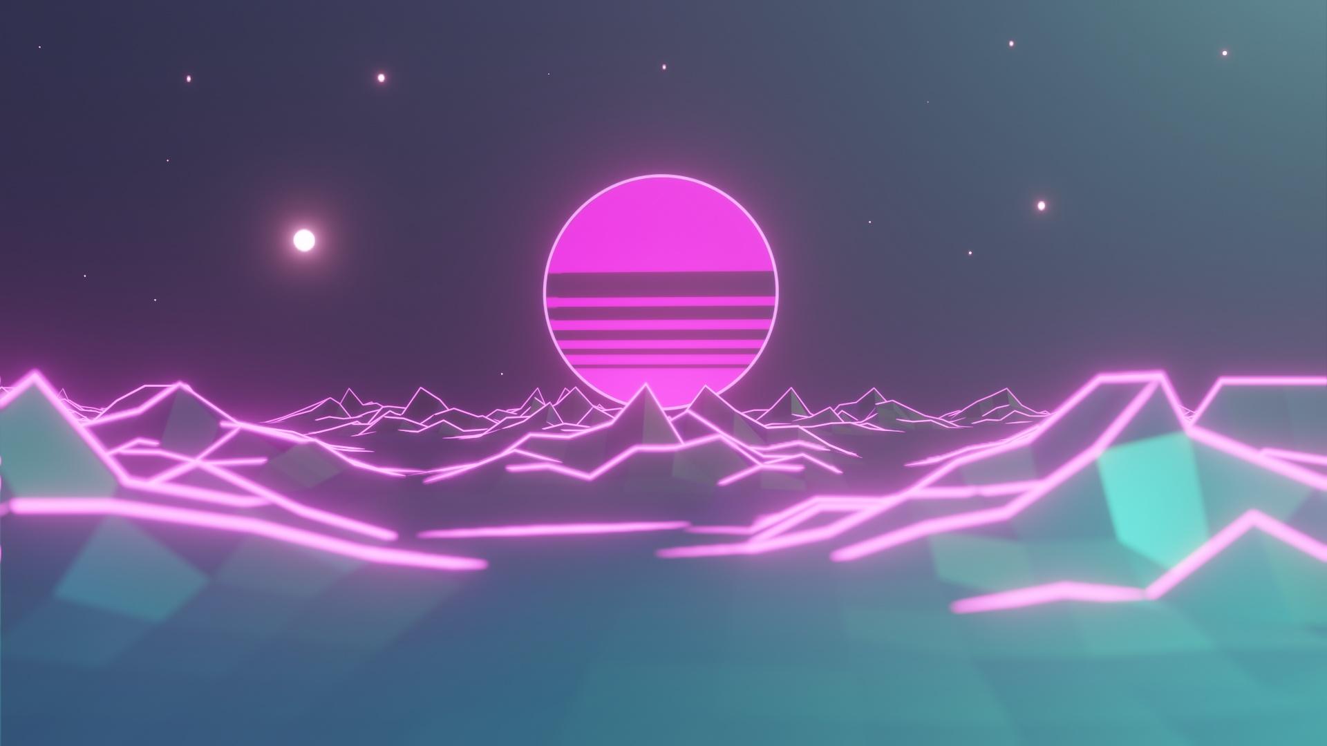 Neon cool wallpaper