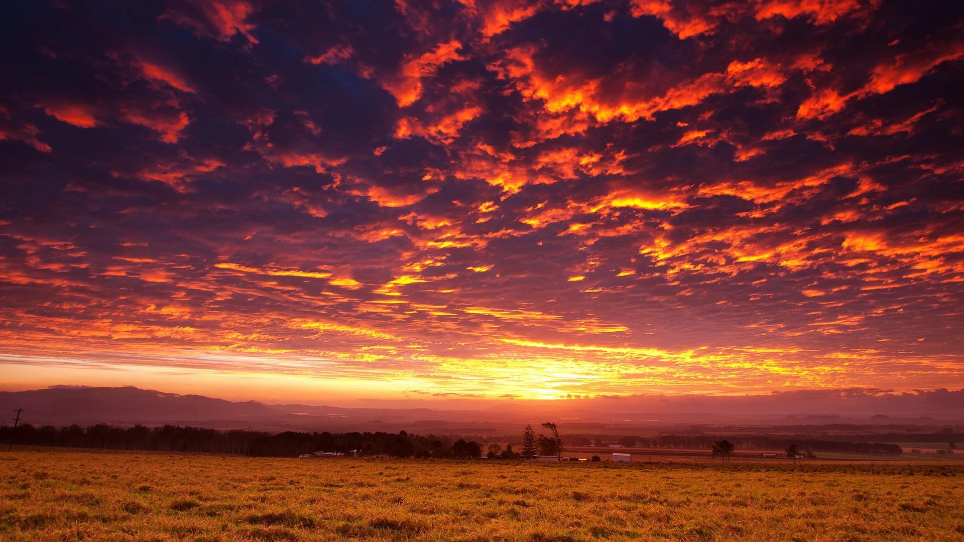 Sunset free background