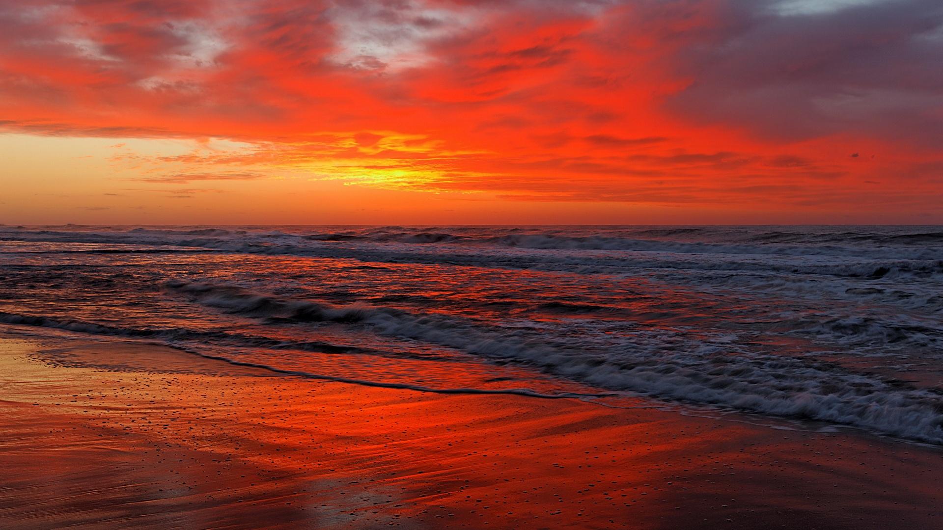 Sunset desktop background
