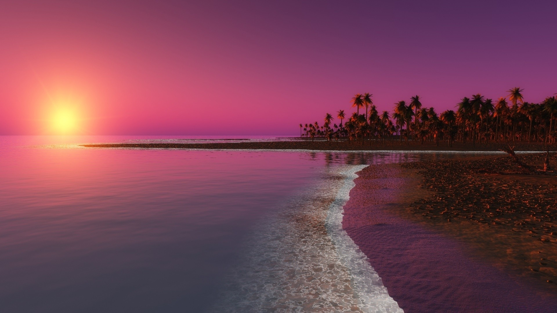 Sunset hd background