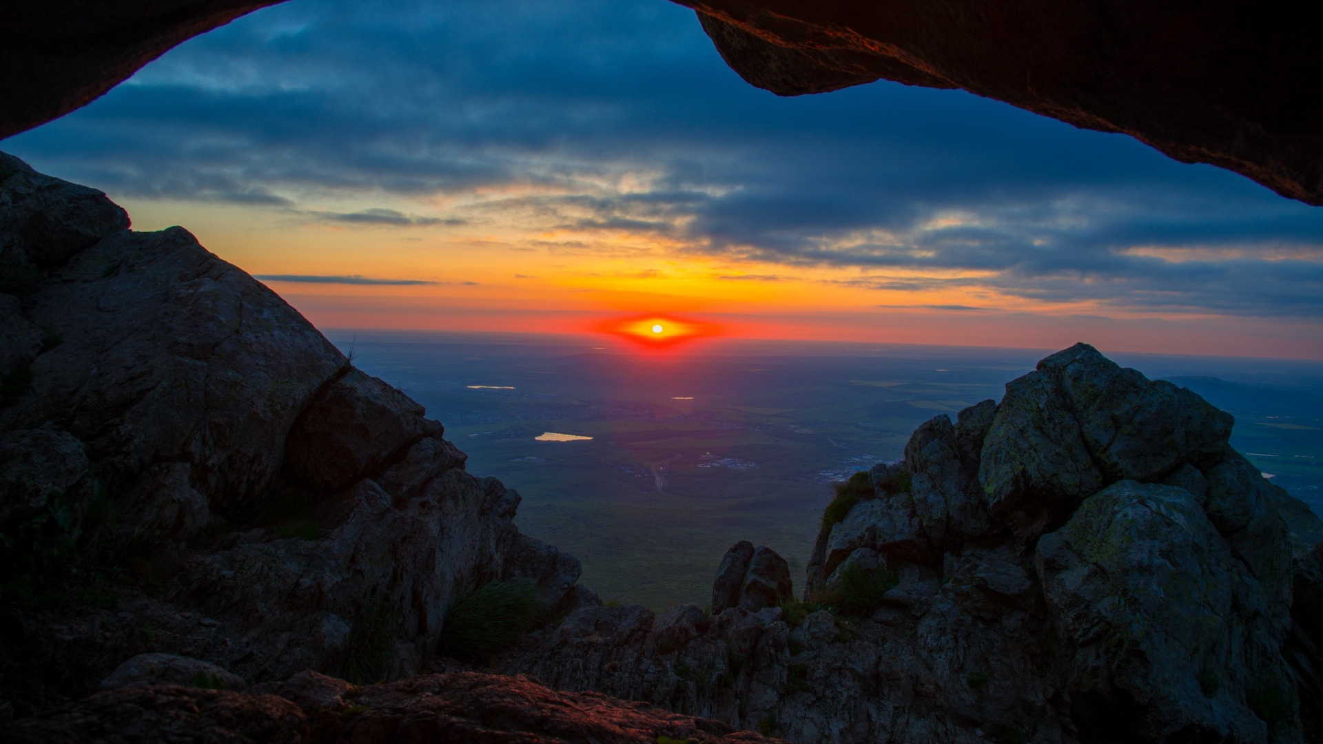 Sunset best background