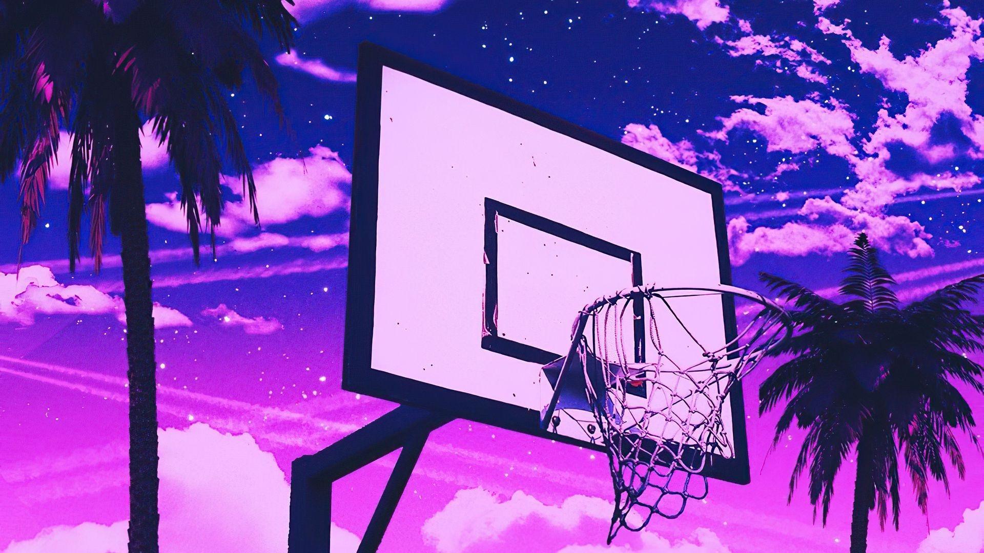 Basketball desktop background