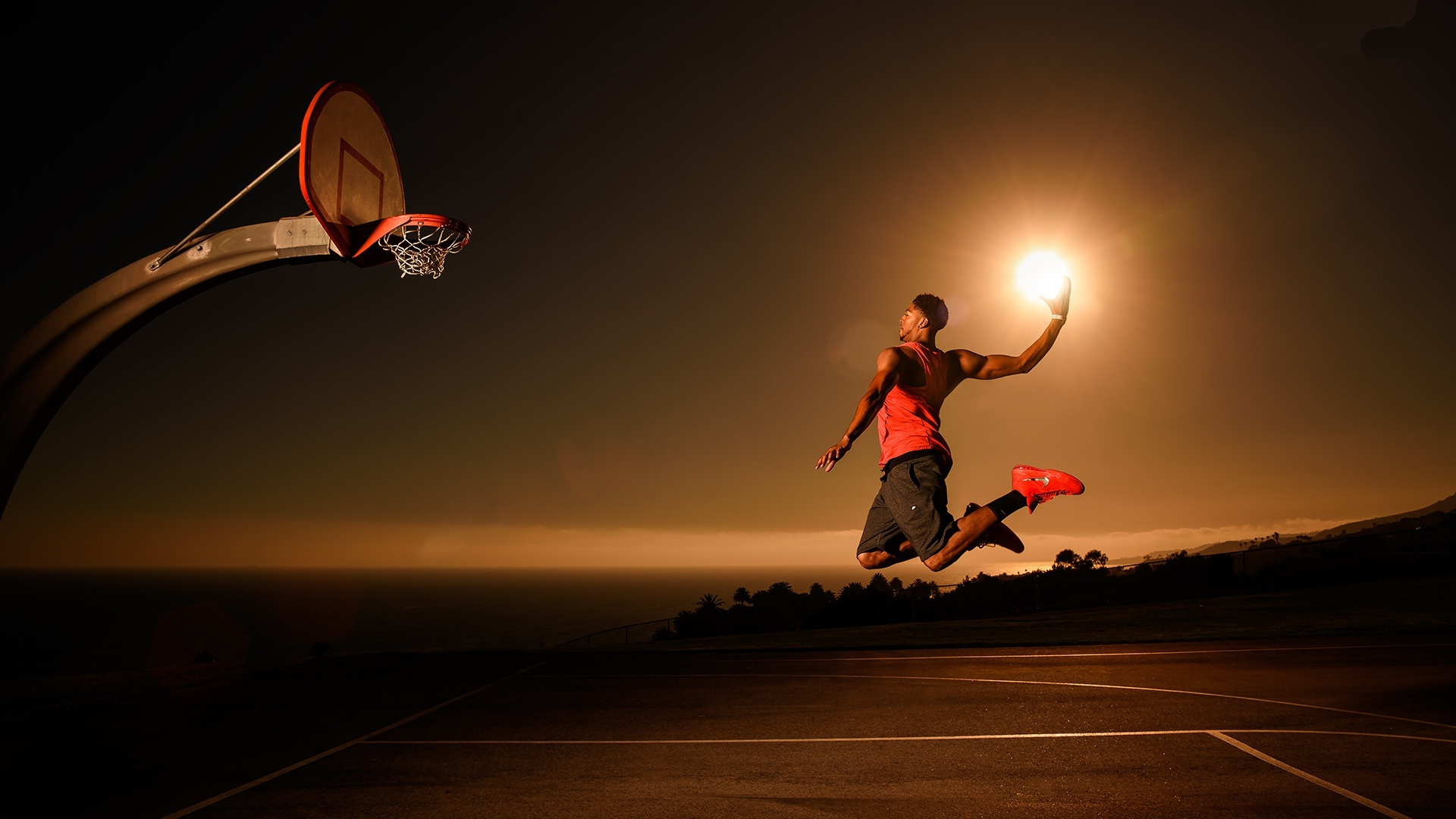 Basketball 1080p wallpaper