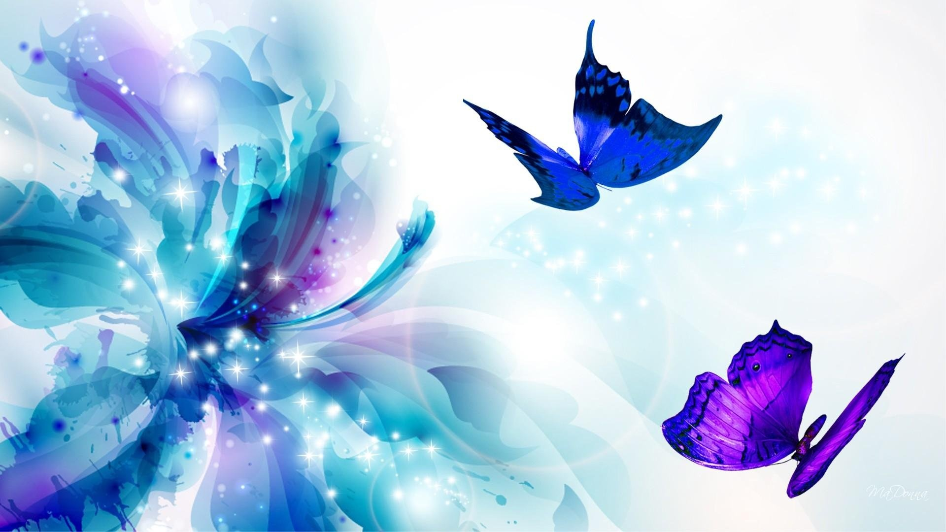 Butterfly free background