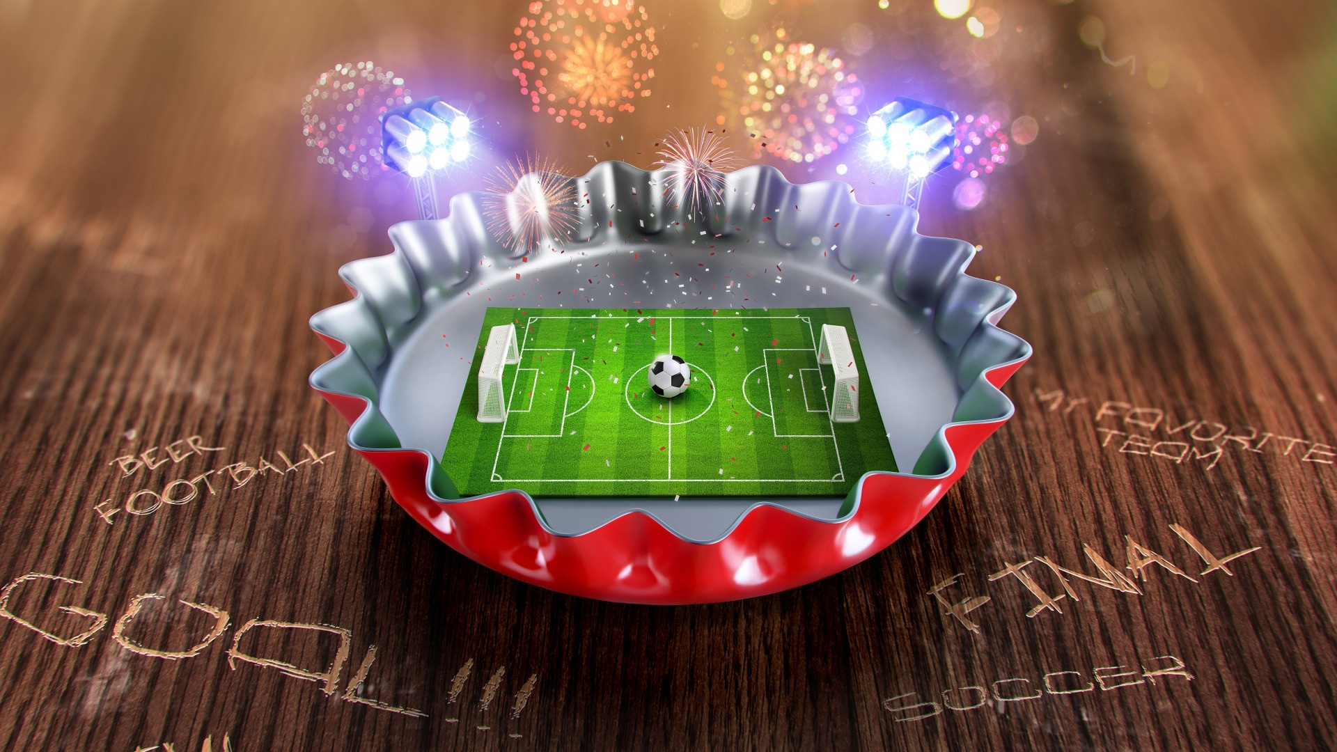 Soccer free background