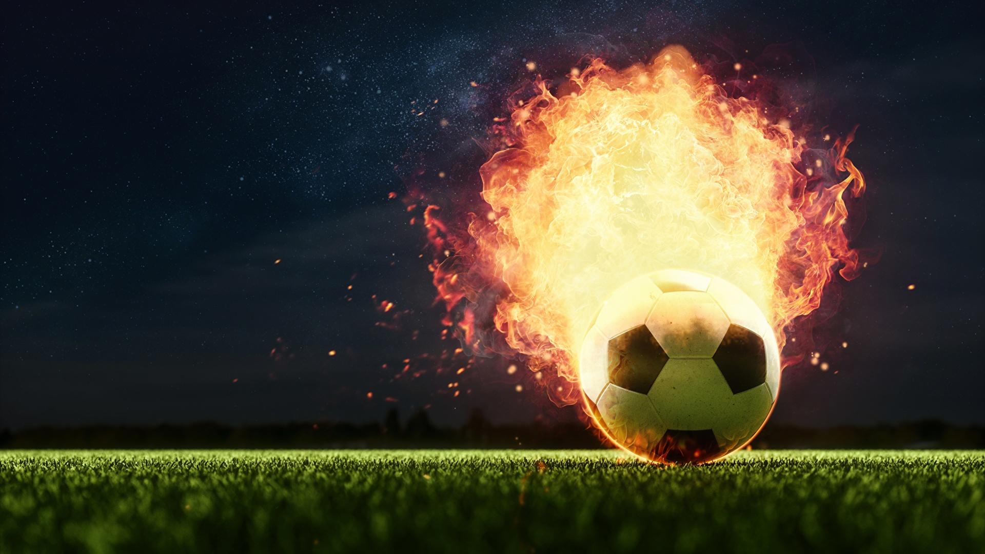Soccer desktop background