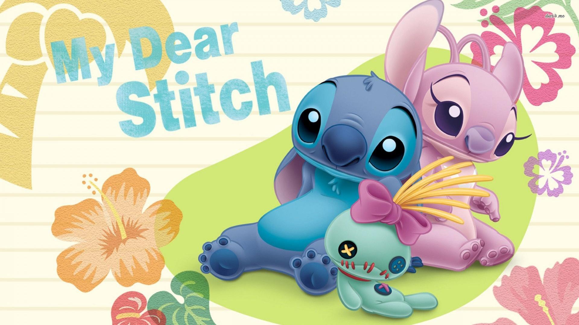 Stitch pc wallpaper