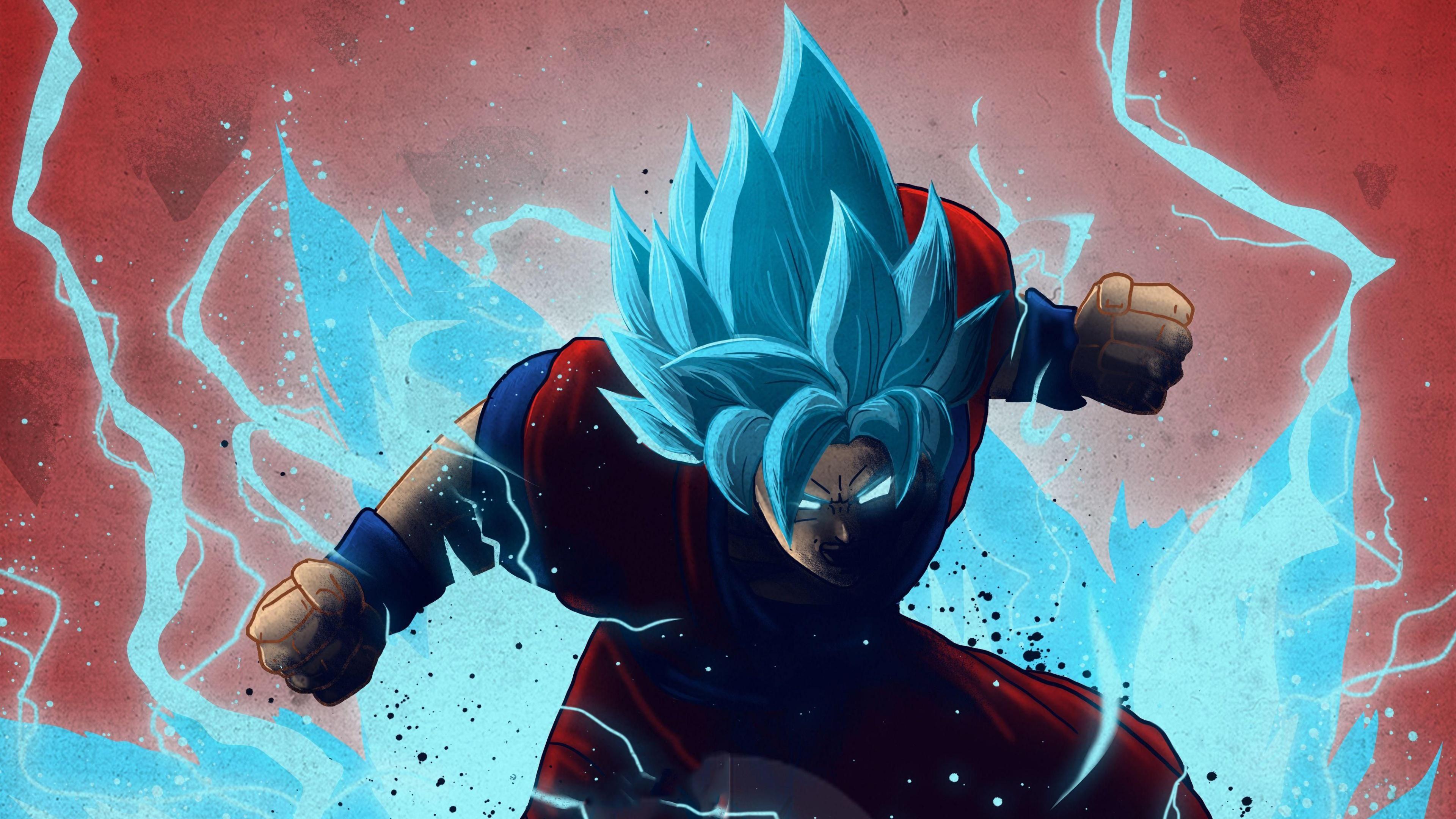 Goku computer background