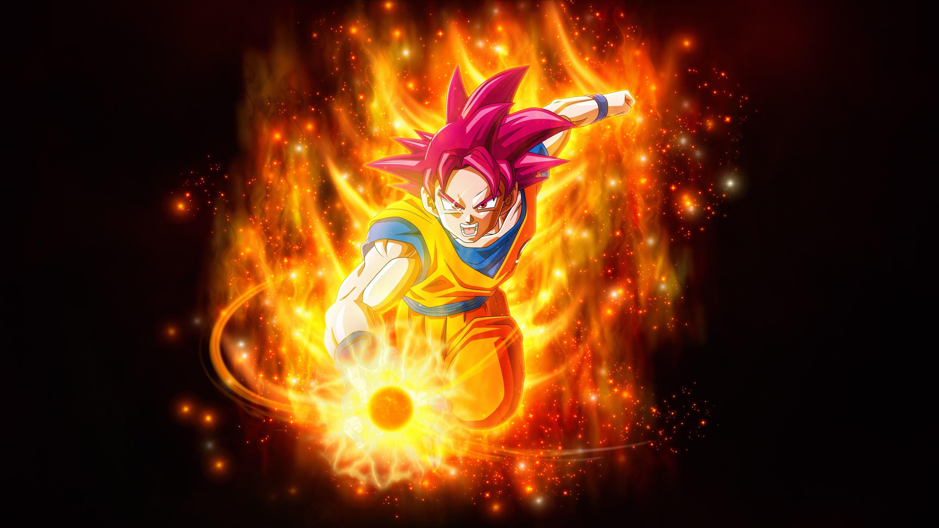 Goku 3840x2160 wallpaper