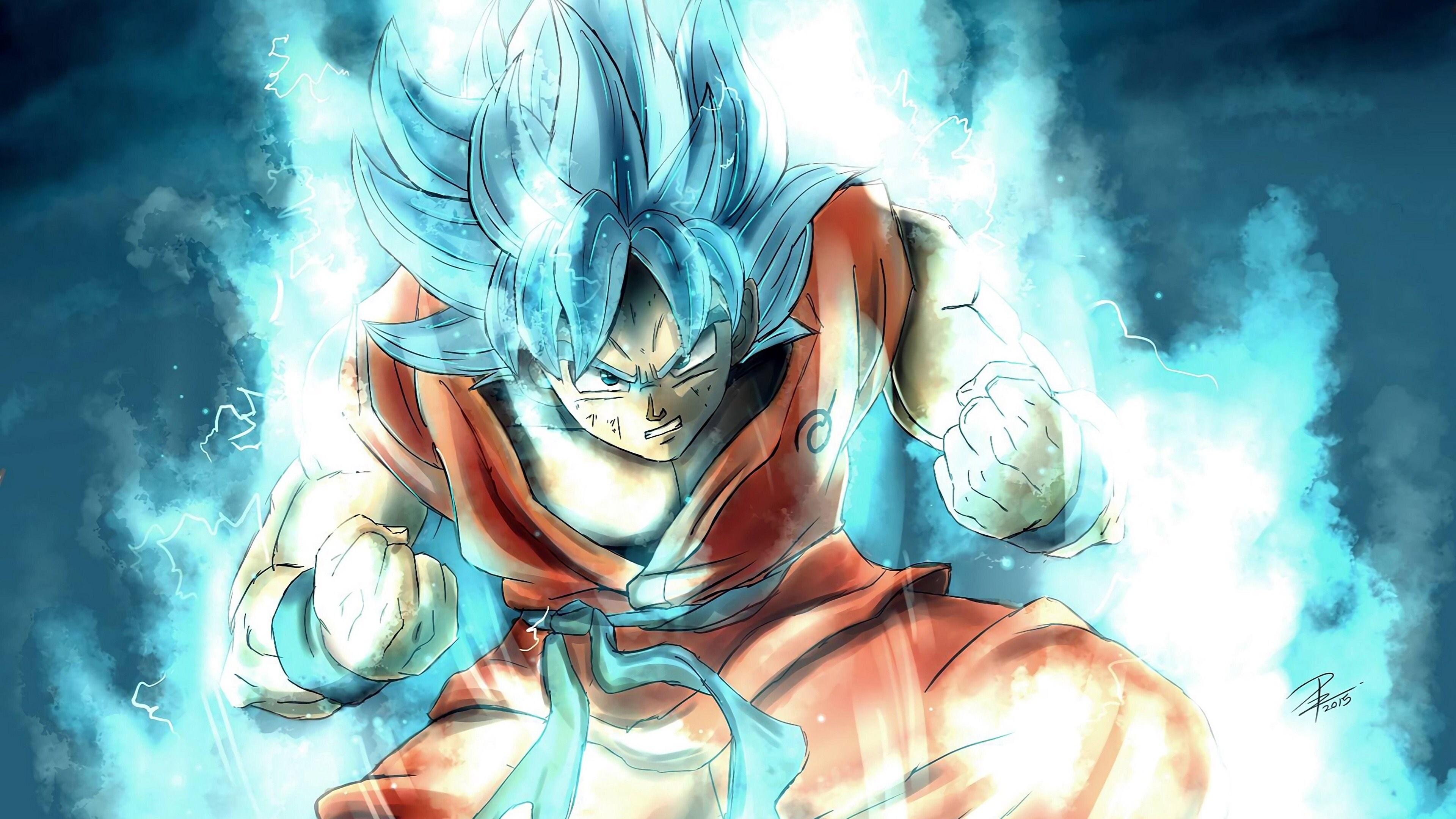 Goku background wallpaper