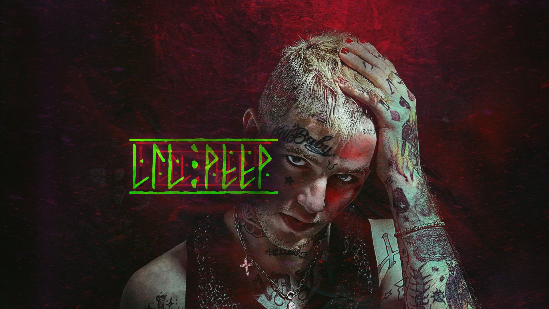 Lil Peep 1080p wallpaper
