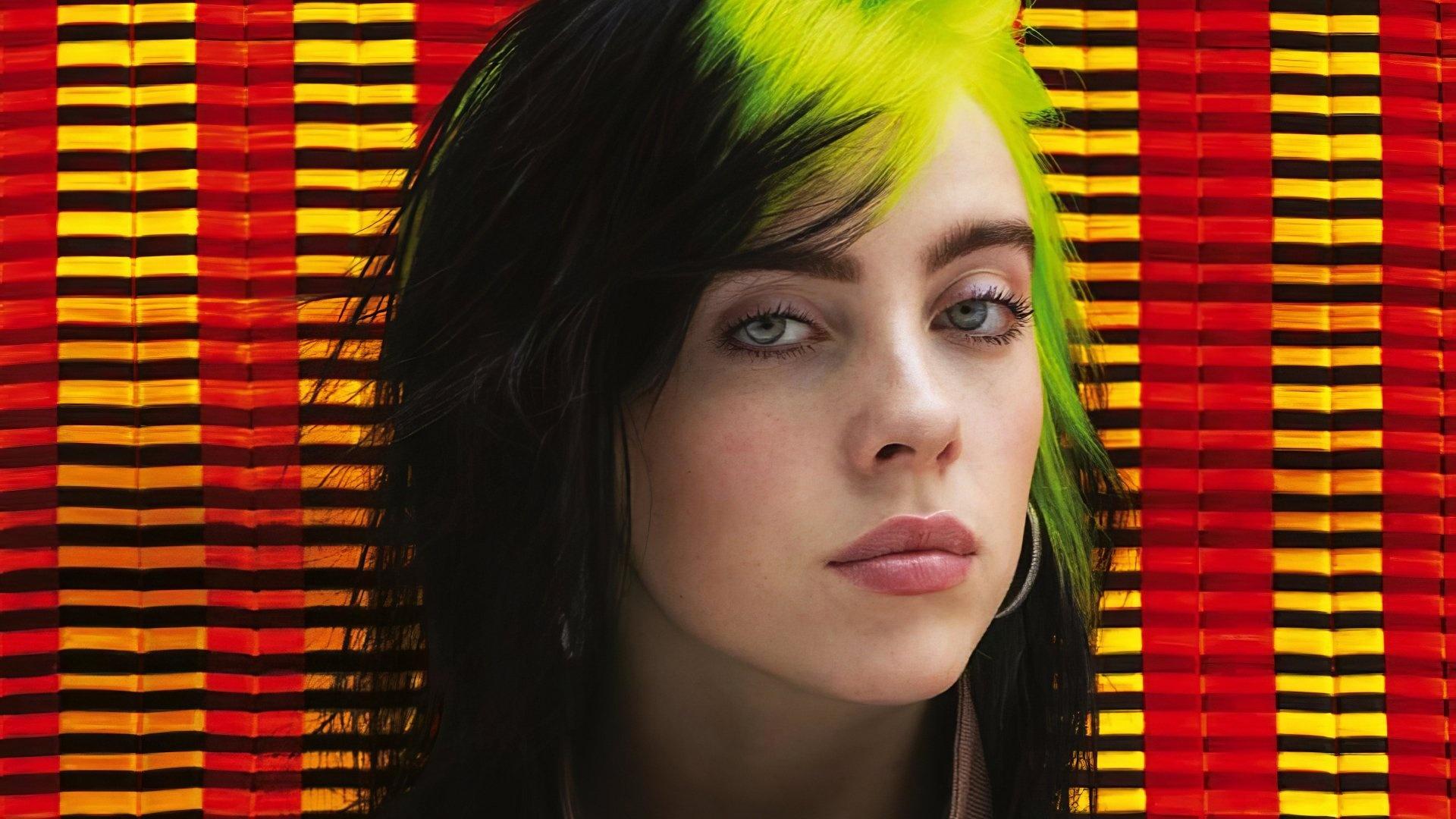 Billie Eilish desktop background