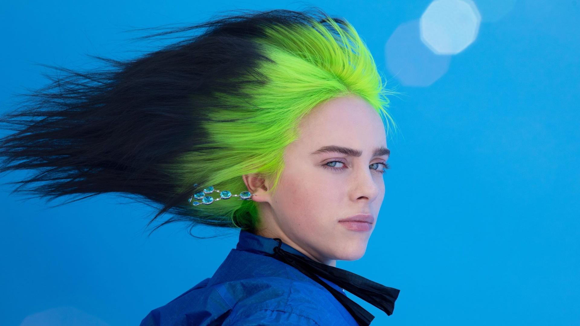 Billie Eilish cool background