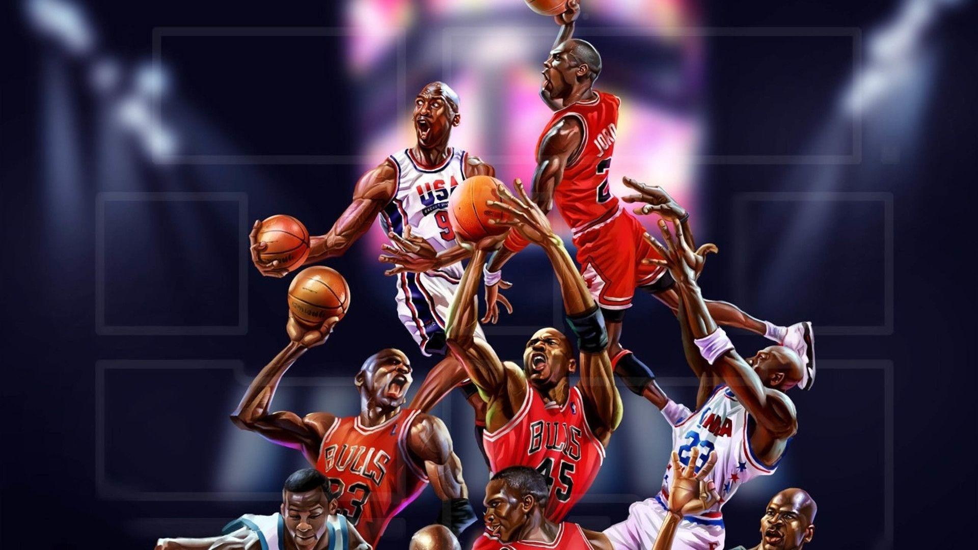 Michael Jordan computer background