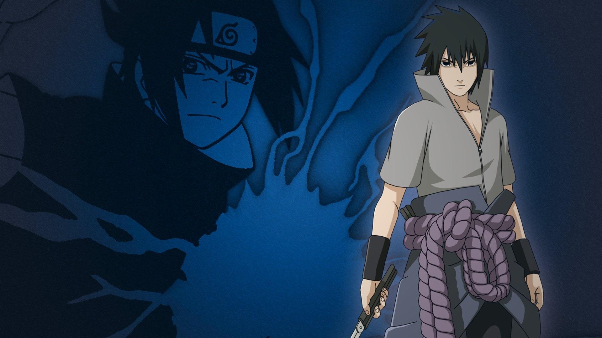 Sasuke laptop wallpaper