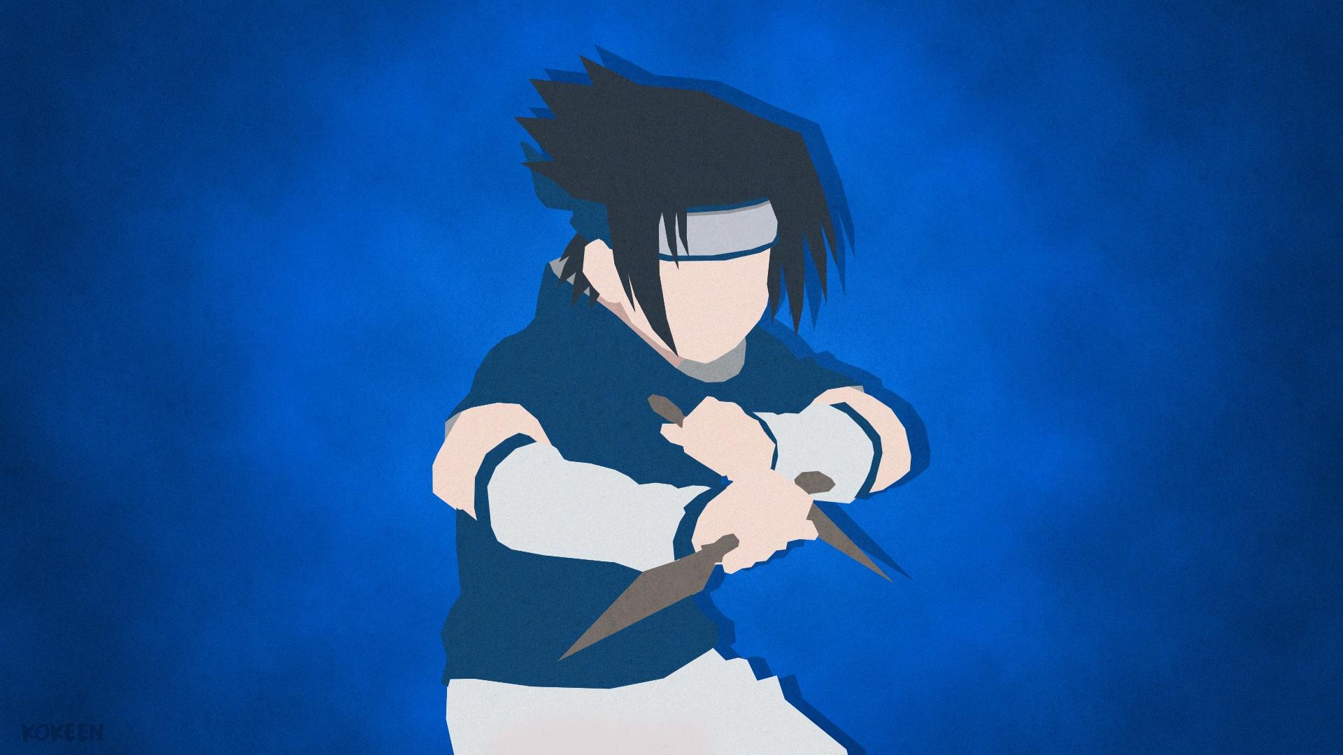 Sasuke desktop background