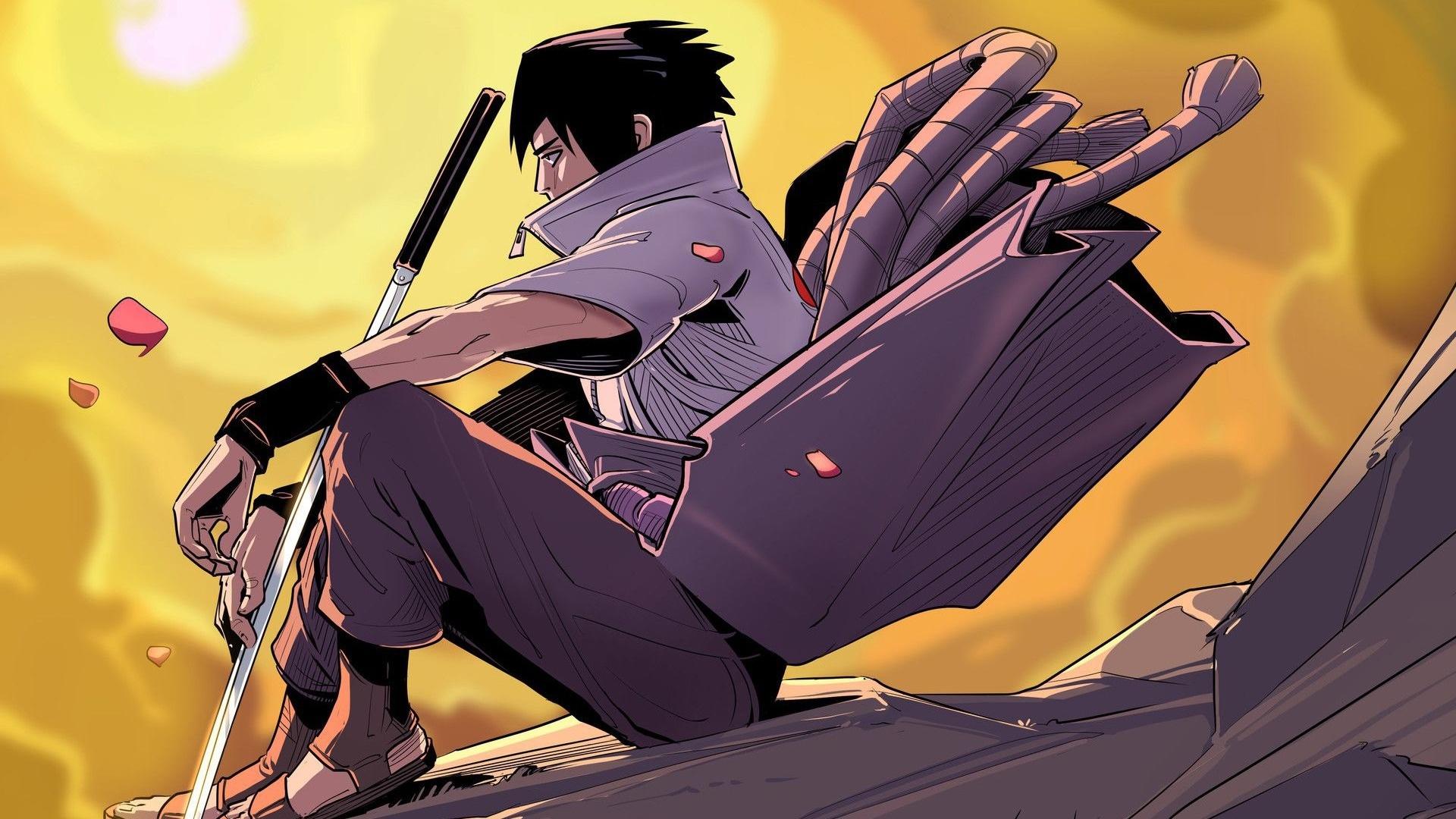 Sasuke free wallpaper