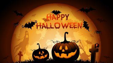 Happy Halloween desktop background